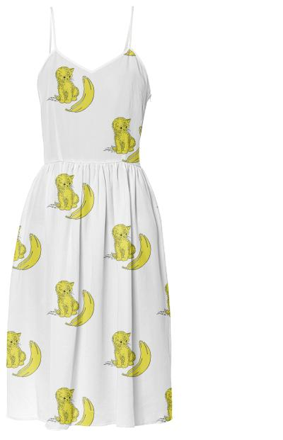 Kitty Kat Summer Dress