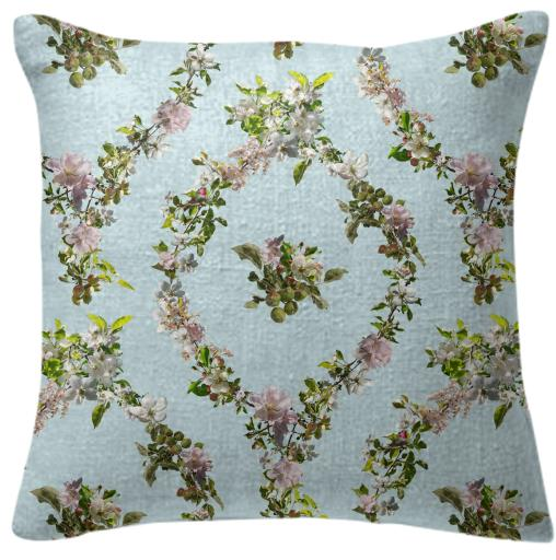 Fallen Fruit Spring Pillow