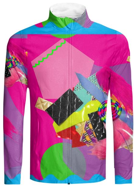 Lavinia fenton 3d horse touchable collage tracksuit jacket