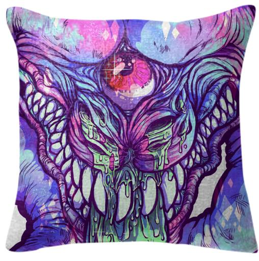 Nastyhead Crystalline Pillow