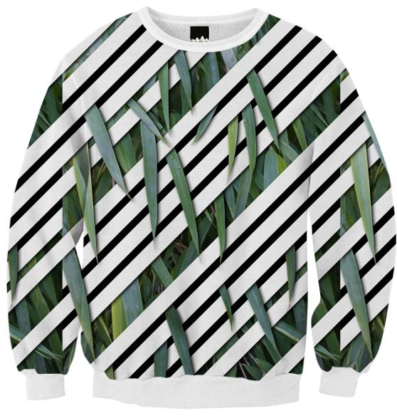 PAOM, Print All Over Me, digital print, design, fashion, style, collaboration, melvin_galapon, Ribbed Sweatshirt, Ribbed-Sweatshirt, RibbedSweatshirt, Horticulture, autumn winter, unisex, Poly, Tops
