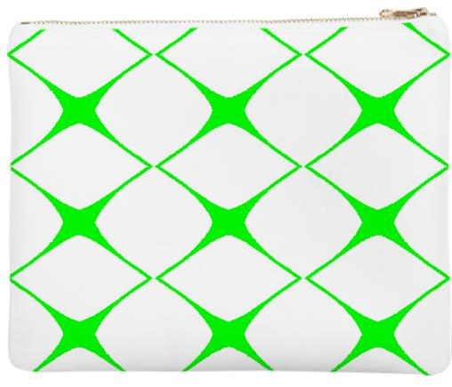 Avis Green Clutch