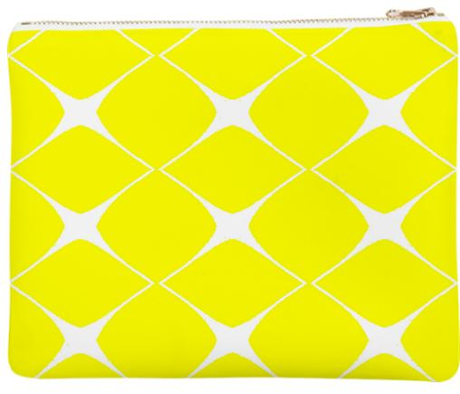 Avis Yellow Clutch