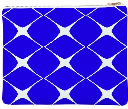 Avis Blue Clutch