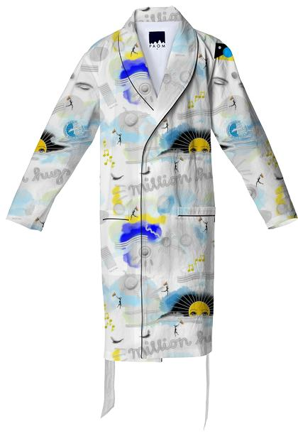 PAOM, Print All Over Me, digital print, design, fashion, style, collaboration, pinar_viola, Cotton Robe, Cotton-Robe, CottonRobe, Silent, autumn winter spring summer, unisex, Cotton, Home