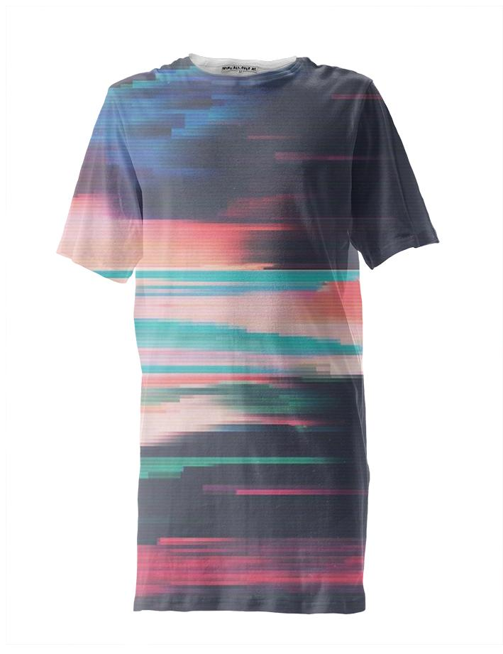 digital landscape tall tee