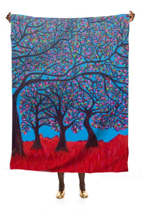 Branches of Life Scarf