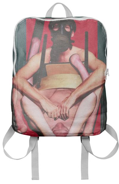 PAOM, Print All Over Me, digital print, design, fashion, style, collaboration, bruce-la-bruce, bruce la bruce, Backpack, Backpack, Backpack, Bruce, LaBruce, Damien, Blottiere, autumn winter spring summer, unisex, Poly, Bags