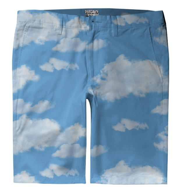 Summer Skies Trouser Shorts