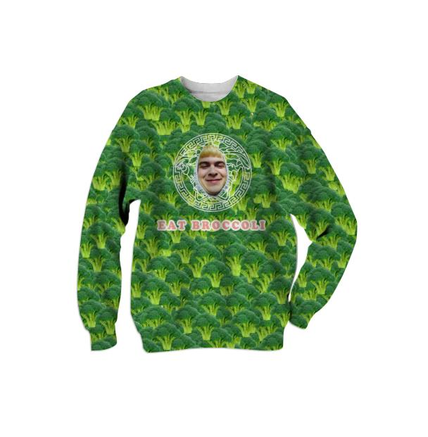 DEANSACE BROCCOLI SWEATSHIRT