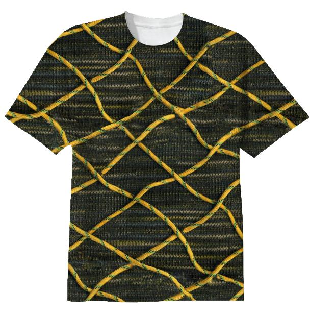 Surrealist construction tee