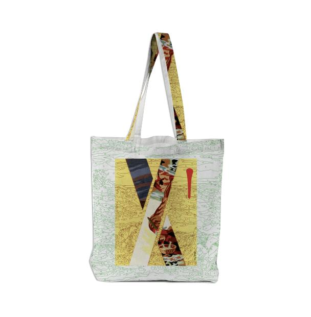 PAOM, Print All Over Me, digital print, design, fashion, style, collaboration, trey-speegle, trey speegle, Tote Bag, Tote-Bag, ToteBag, for, autumn winter spring summer, unisex, Poly, Bags