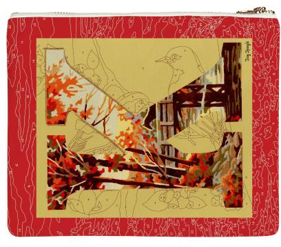 PAOM, Print All Over Me, digital print, design, fashion, style, collaboration, trey-speegle, trey speegle, Clutch, Clutch, Clutch, for, autumn winter spring summer, unisex, Poly, Bags