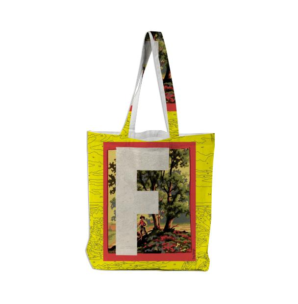 PAOM, Print All Over Me, digital print, design, fashion, style, collaboration, trey-speegle, trey speegle, Tote Bag, Tote-Bag, ToteBag, for, yellow, autumn winter spring summer, unisex, Poly, Bags