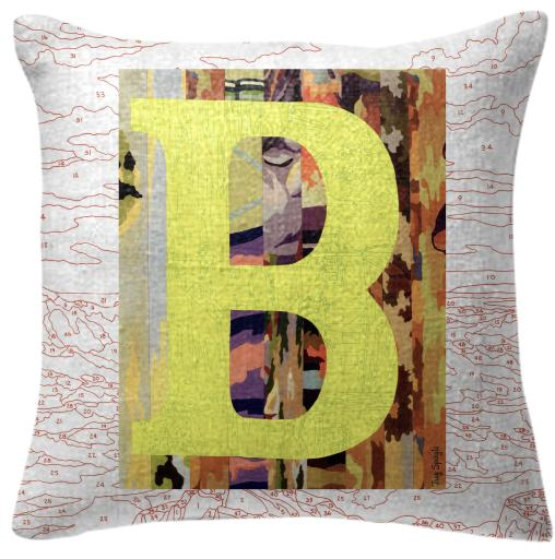 PAOM, Print All Over Me, digital print, design, fashion, style, collaboration, trey-speegle, trey speegle, Pillow, Pillow, Pillow, for, red, autumn winter spring summer, unisex, Poly, Home