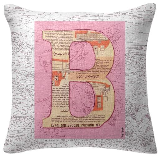 PAOM, Print All Over Me, digital print, design, fashion, style, collaboration, trey-speegle, trey speegle, Pillow, Pillow, Pillow, for, pink, autumn winter spring summer, unisex, Poly, Home