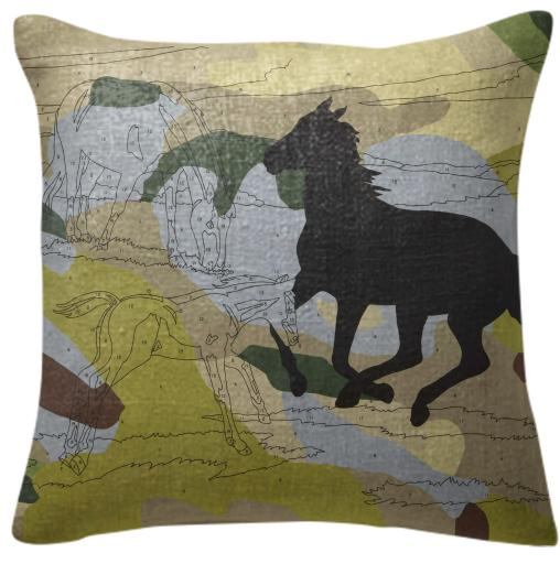 PAOM, Print All Over Me, digital print, design, fashion, style, collaboration, trey-speegle, trey speegle, Pillow, Pillow, Pillow, Leave, Mark, green, camo, autumn winter spring summer, unisex, Poly, Home