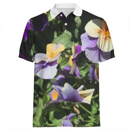 Spring Flower Polo