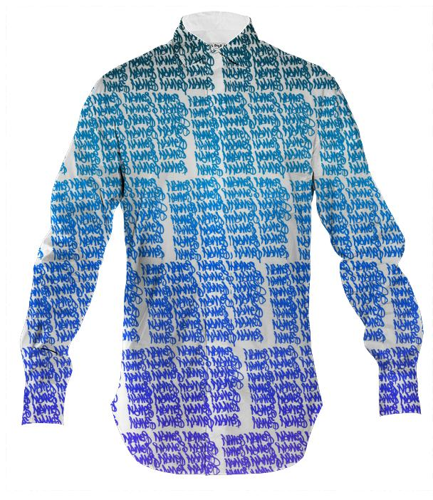 Names Cool Mens Button Down