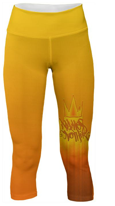 Names Molten Yoga Pants