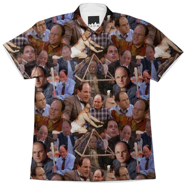 George Costanza Button Up