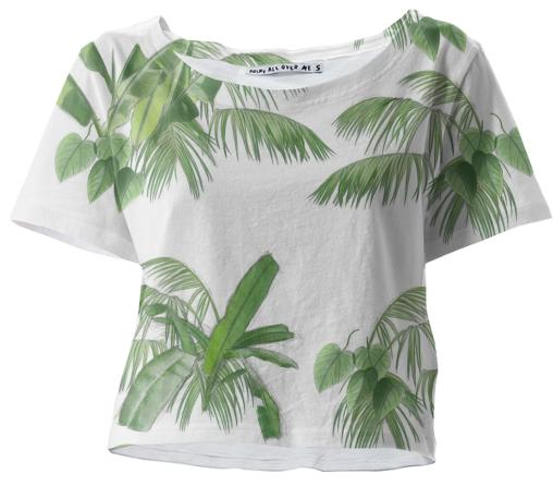 Off Palm Crop Top