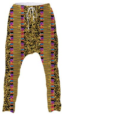 Electric Tribe Lipstick War Drop Pant