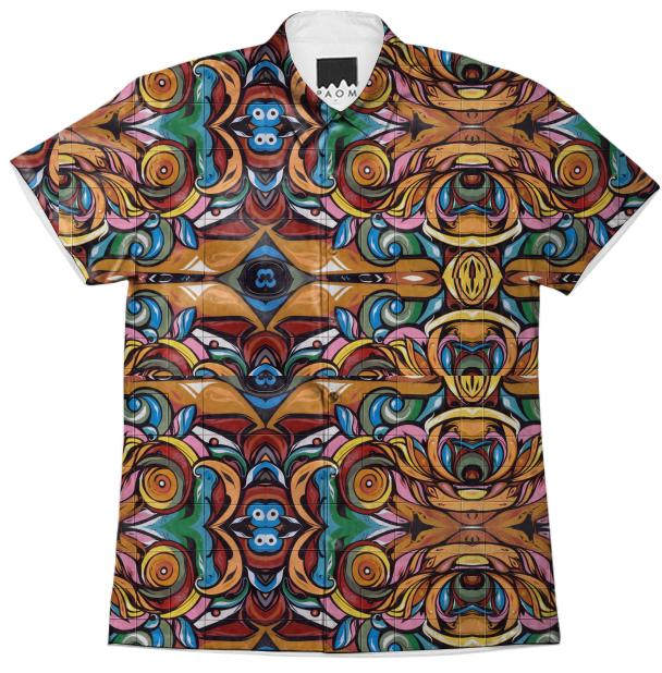 Electric Tribe Mission District Short Sleeve Workshirt