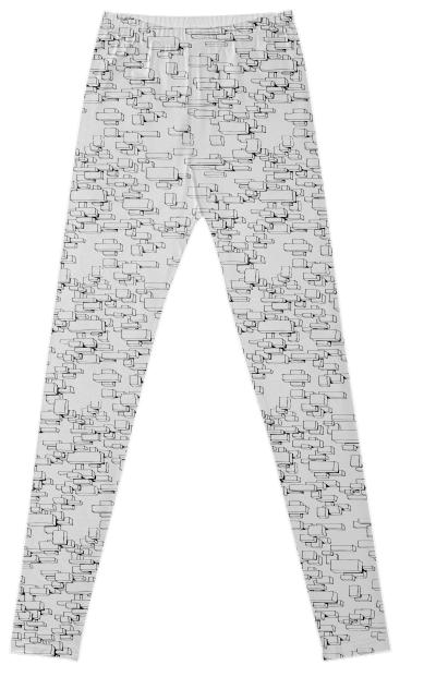 Boxes on boxes Leggings
