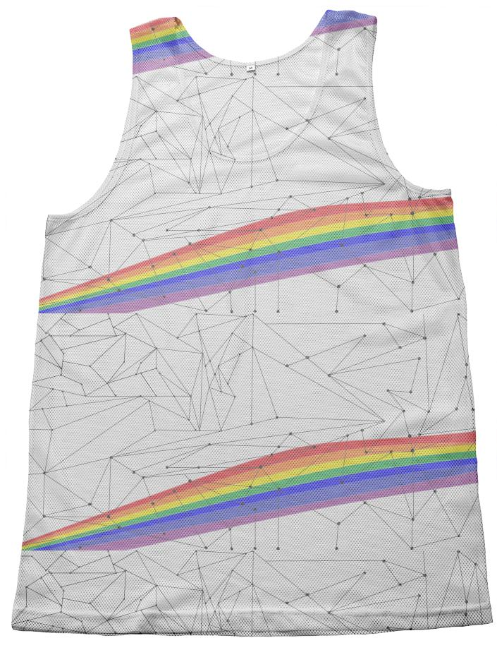 Rainbow Connect the Dots tank