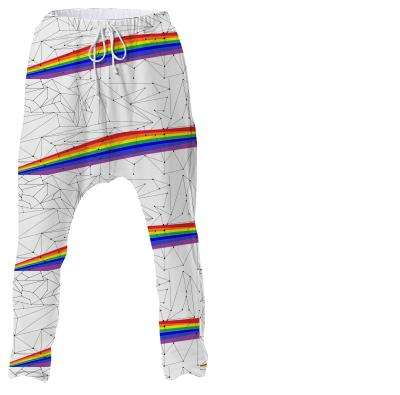 Pride Geometry Drop Pant