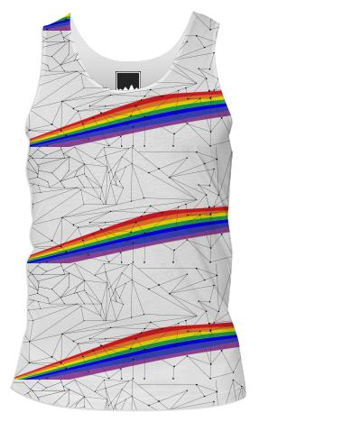 Pride Geometry Tank Top