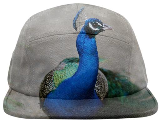 The Blue Cock Hat by TapWater Tees