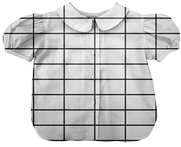 PAOM, Print All Over Me, digital print, design, fashion, style, collaboration, paomkids, Kids Blouse, Kids-Blouse, KidsBlouse, grid, autumn winter spring summer, unisex, Cotton, Kids
