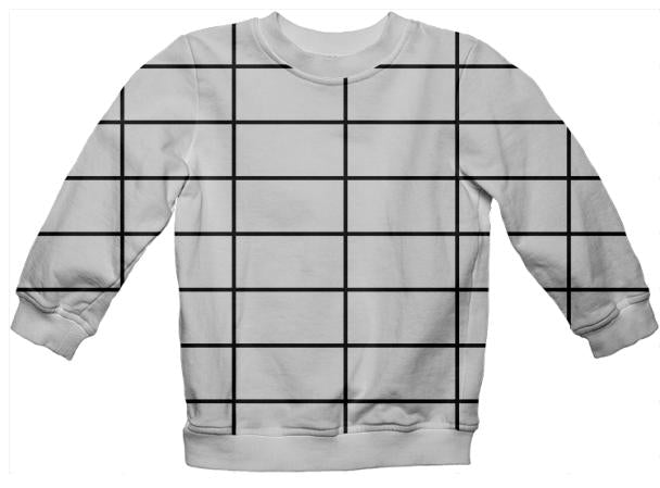 PAOM, Print All Over Me, digital print, design, fashion, style, collaboration, paomkids, Kids Sweatshirt, Kids-Sweatshirt, KidsSweatshirt, grid, autumn winter spring summer, unisex, Poly, Kids