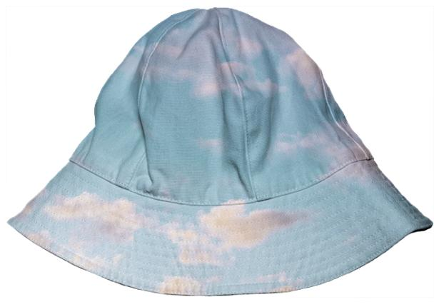 PAOM, Print All Over Me, digital print, design, fashion, style, collaboration, paomkids, Kids Bucket Hat, Kids-Bucket-Hat, KidsBucketHat, cloud, autumn winter spring summer, unisex, Poly, Kids