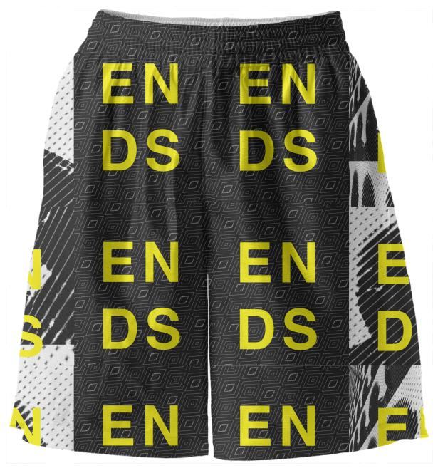Ends basketball shorts