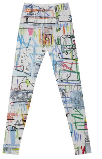 Expressionist Leggings