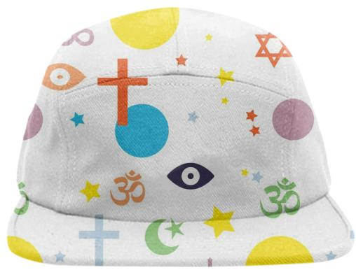 PAOM, Print All Over Me, digital print, design, fashion, style, collaboration, secretary, Baseball Hat, Baseball-Hat, BaseballHat, Holy, spring summer, unisex, Poly, Accessories