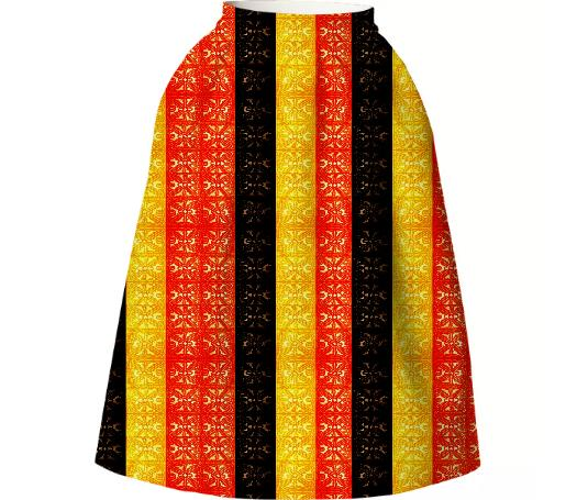 COLOR BLOCKING TAPA PRINTS