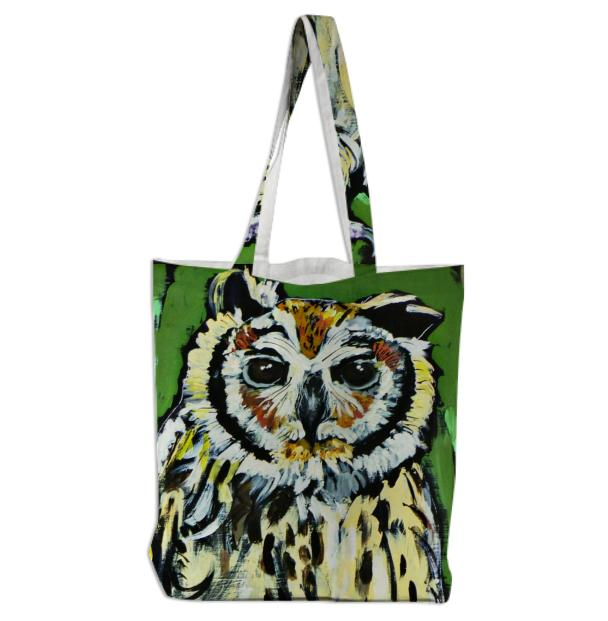 OWL carry a Tote Bag