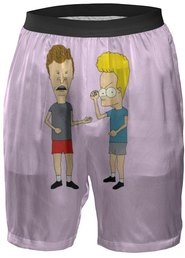Bart and Butthead Boxer Shorts