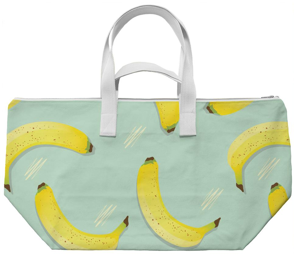 Eat My Bananas Weekend Bag