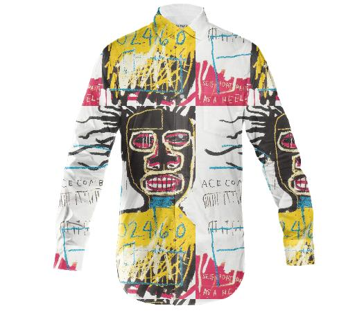 basquiat button up
