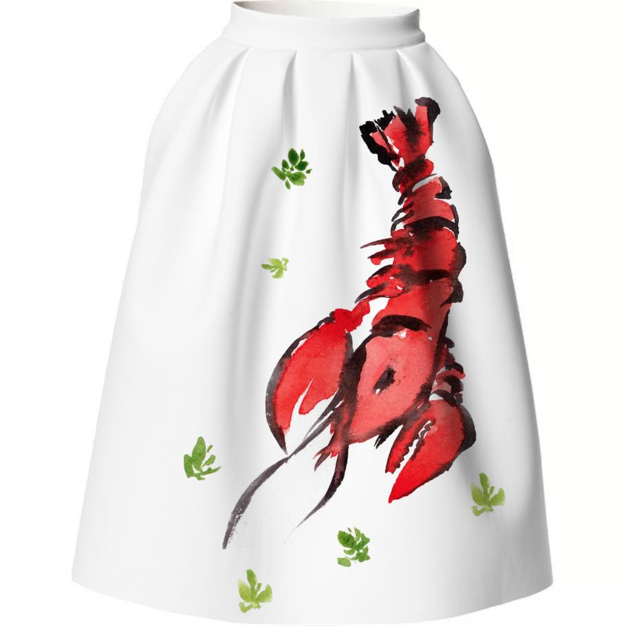 Dali lobster skirt