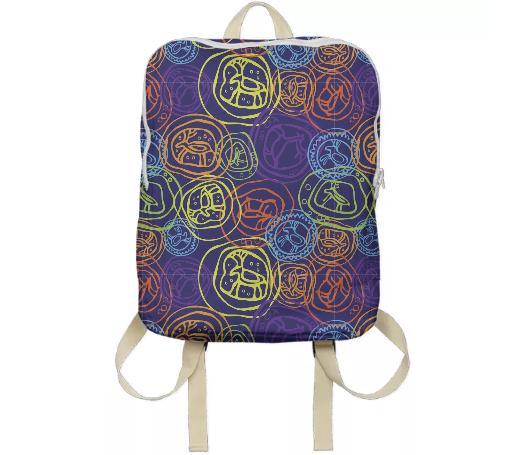 A bag with ancient elk