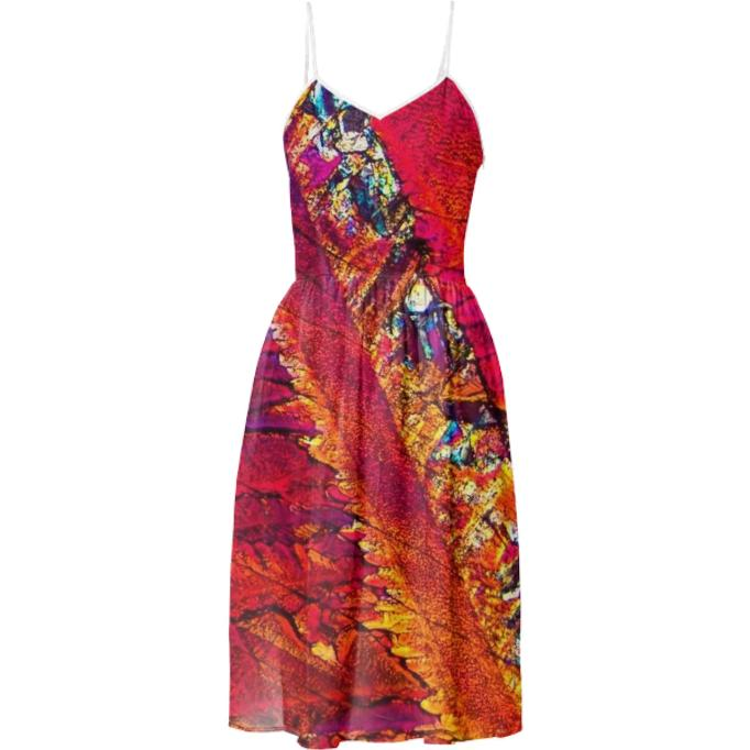 PARADISE BREEZE CRYSTAL SUMMER DRESS