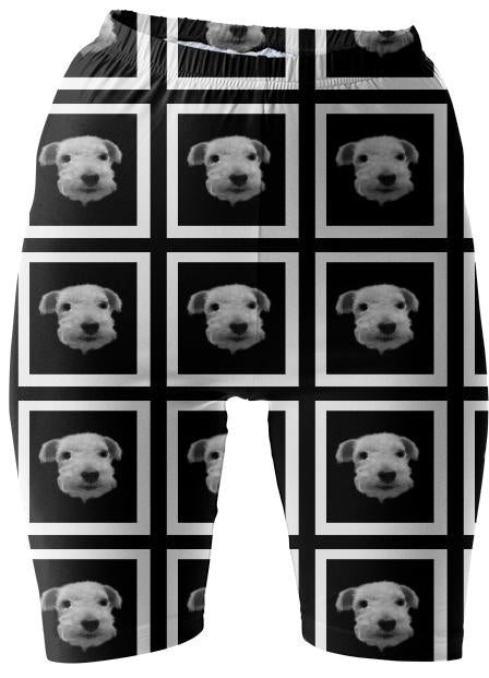 Hunter shorts bw no bowtie