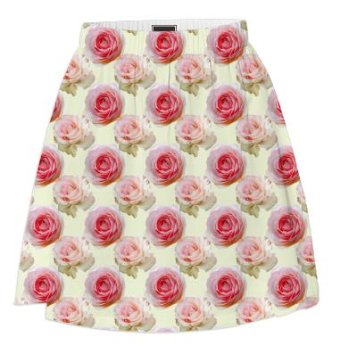 Flowered UP skirt