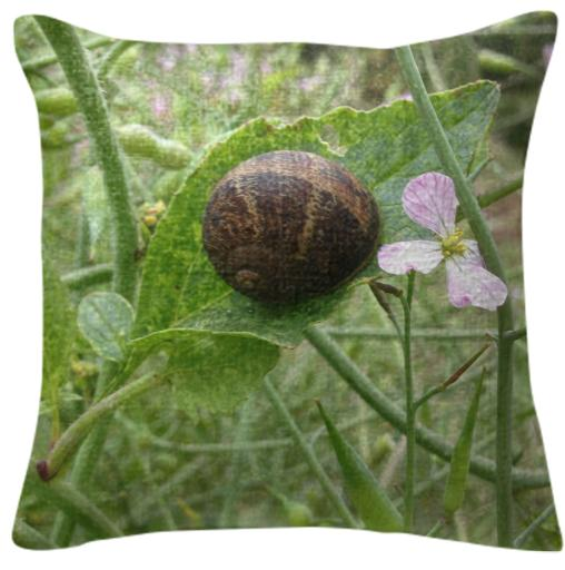 Sleepy Snail Pillow